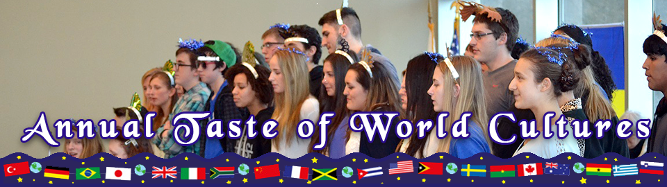 2017 Annual World Cultures banner March