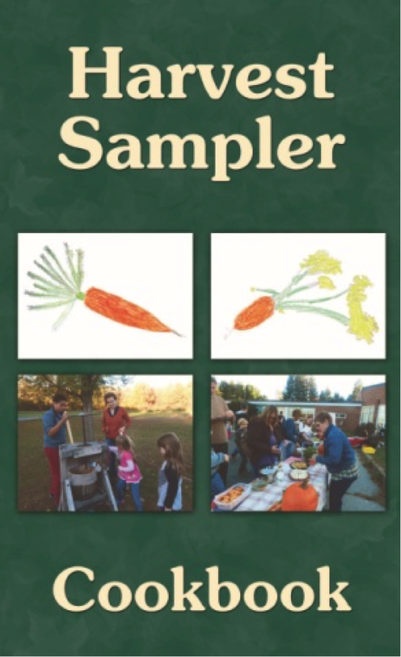 Harvest Sampler Cookbook cover
