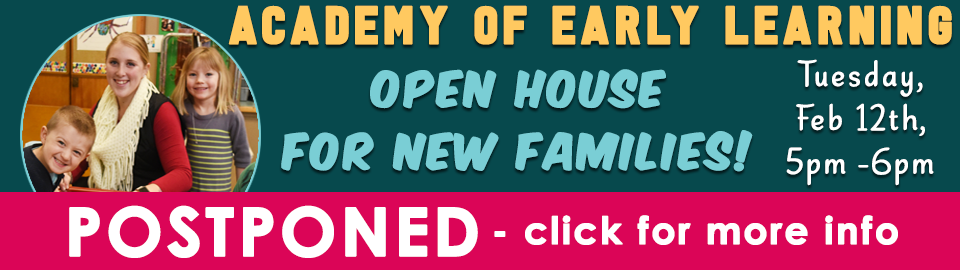 AEL 2019 Open House banner postponed
