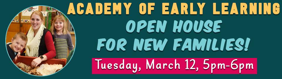 AEL 2019 Open House banner rescheduled