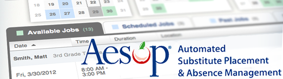 AESOP banner