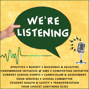 We're Listening graphic