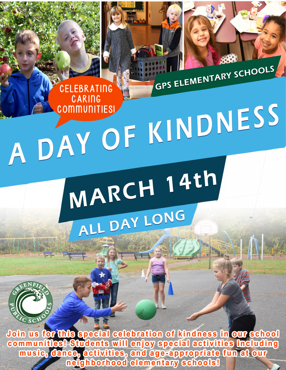 Day of Kindness Event at AEL and GPS Elementary Schools