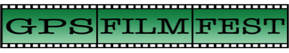 "Clipart of filmstrip with text that reads ""GPS FILM FEST"""