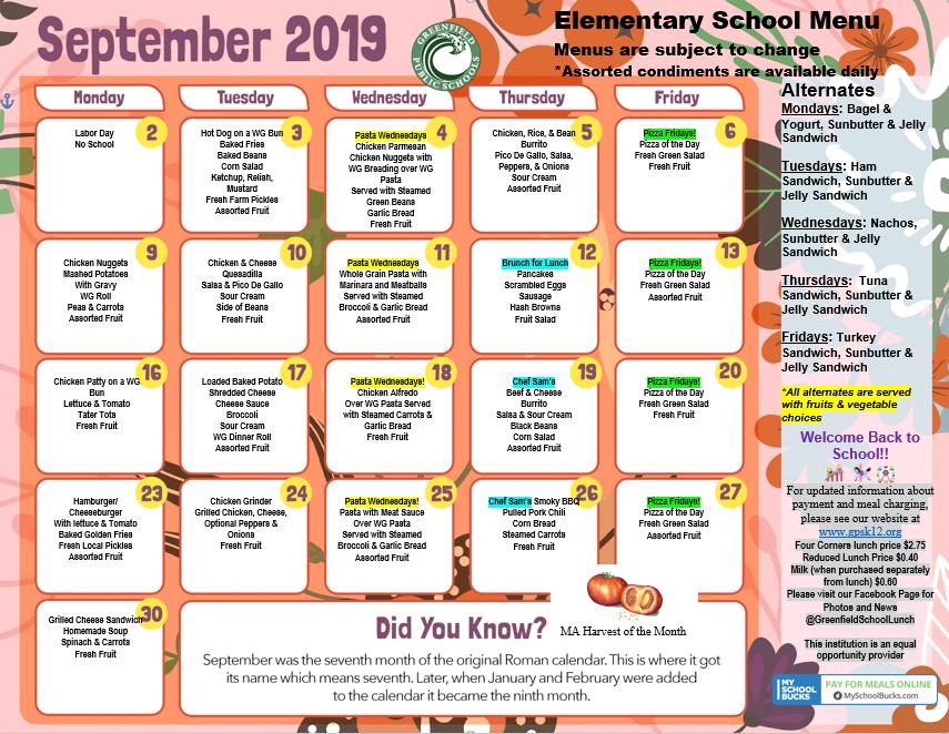 Elementary Schools | Greenfield Public Schools
