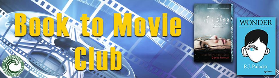 book to movie club