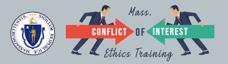 conflict of interest training banner