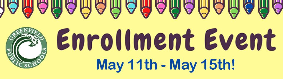 enrollment event banner