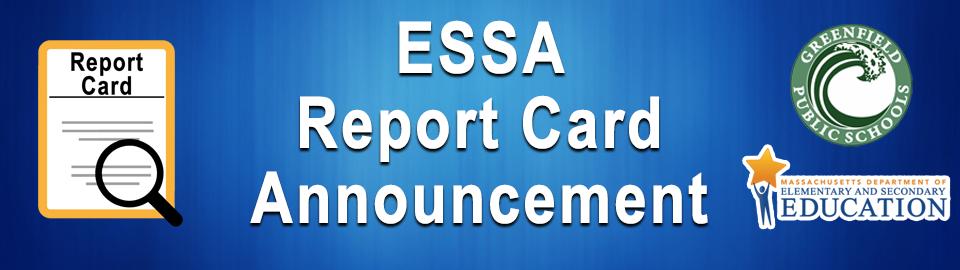 essa report card announcement