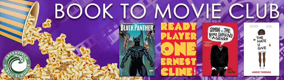 Book to Movie Club 2018 banner