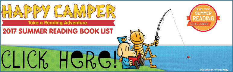 Click here for a Summer Reading Book List