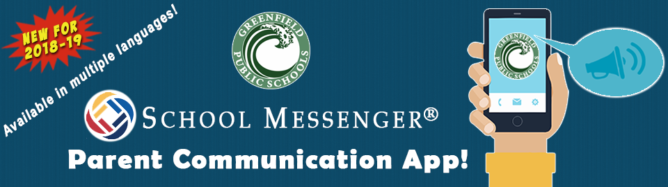 School Messenger Banner Graphic