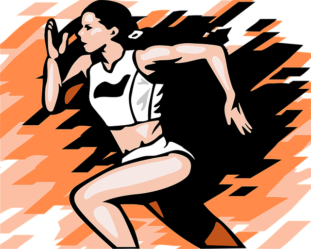 Female Track Runner