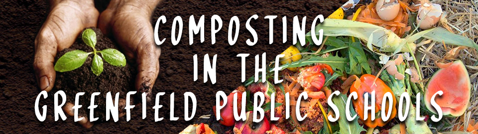 composting at GPS banner