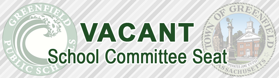 Vacant School Committee Seat Banner