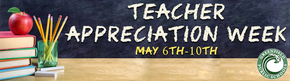teacher appreciation week 2019 banner